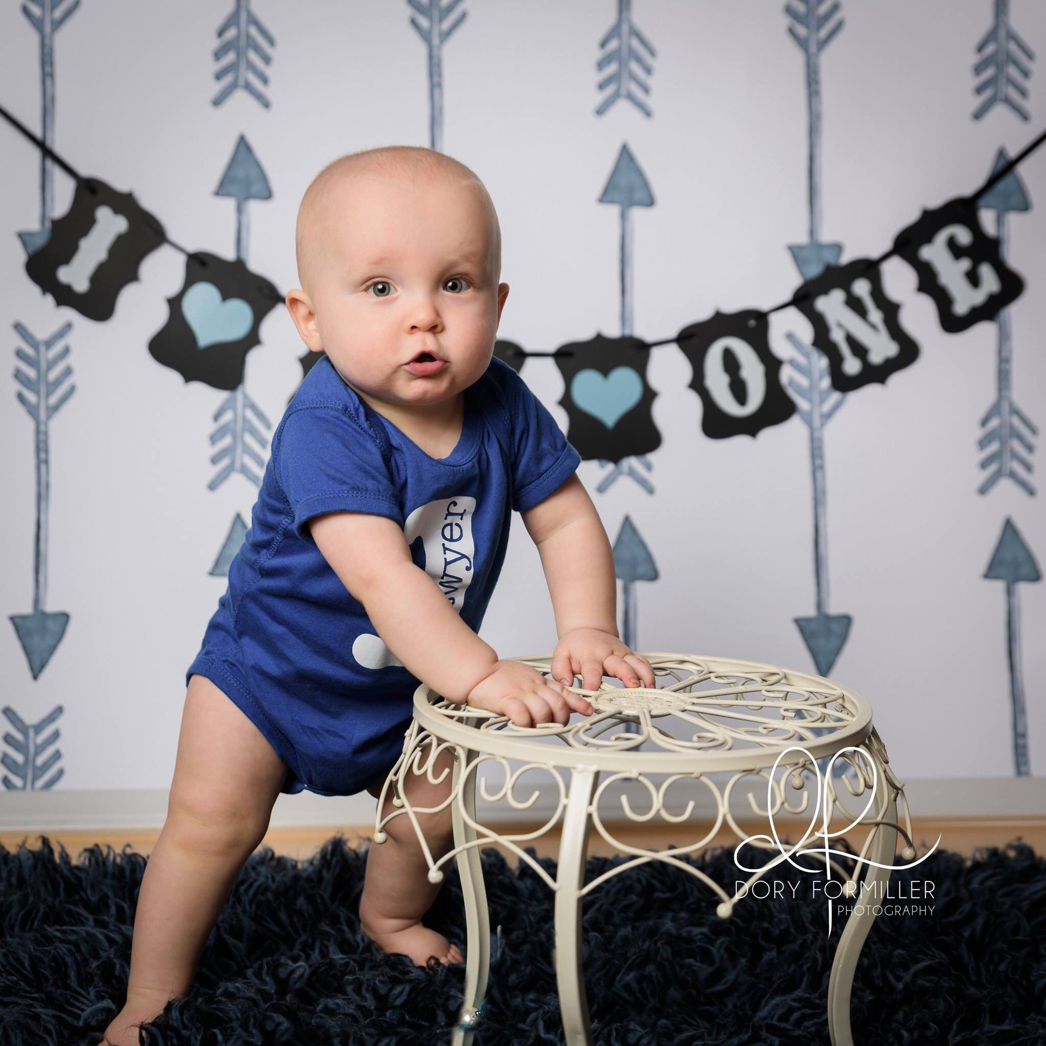 Baby first birthday photo session, little boy birthday photo session