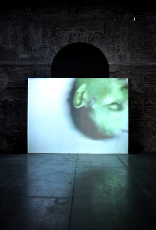Bruce Nauman - Raw Materials with Continuous Shift MMMM (199)