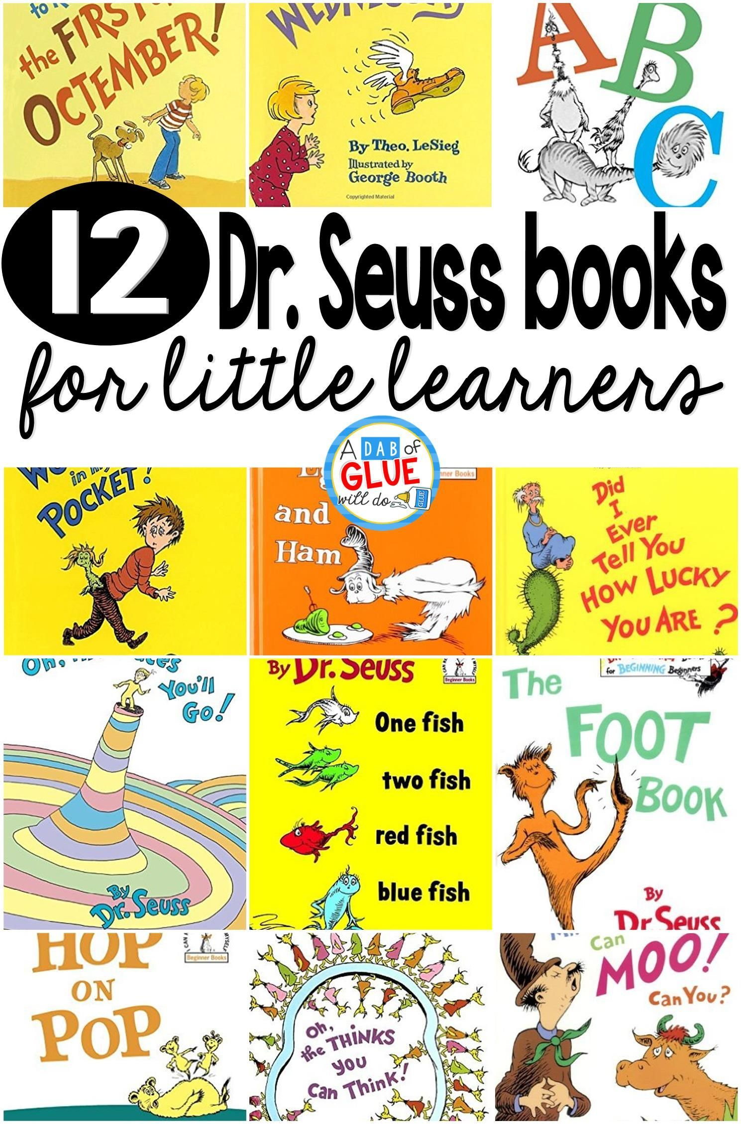 12 Dr Seuss Books For Little Learners In