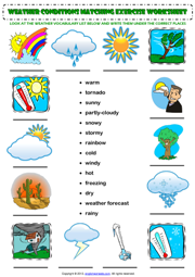 weather conditions esl printable worksheets and exercises esl weather worksheets english. Black Bedroom Furniture Sets. Home Design Ideas