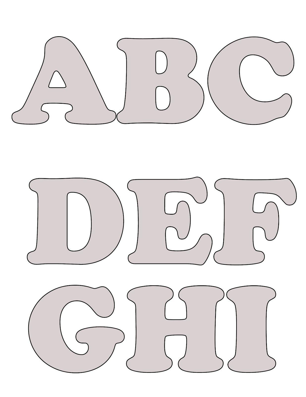 Blogg da Mirian: Mais moldes de letras do alfabeto com passo a passo ...