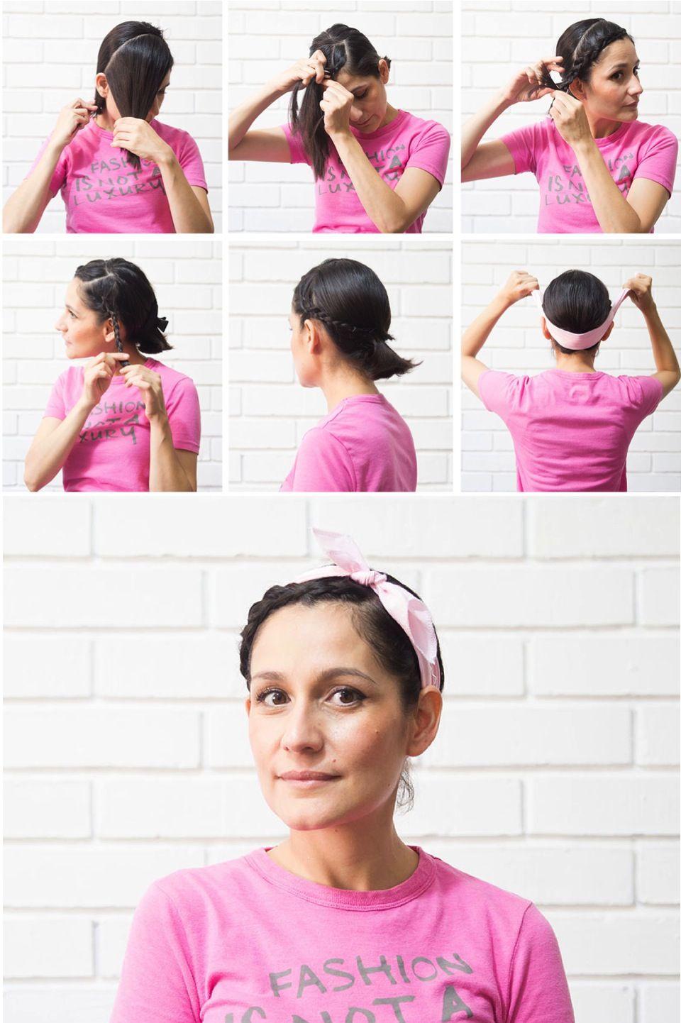 Diy Tres Peinados Recogidos Adaptados Para Cabello Corto Peinados