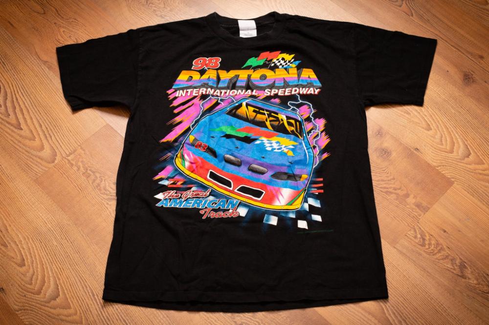 NASCAR Vintage Daytona 500 Shirt Racing Mens Graphic T-Shirt