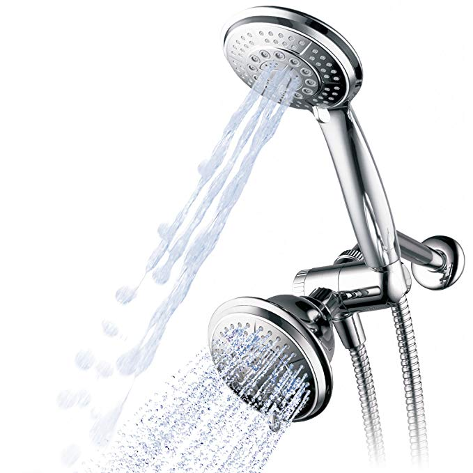 Hydroluxe 1433 Handheld Showerhead Rain Shower Combo High