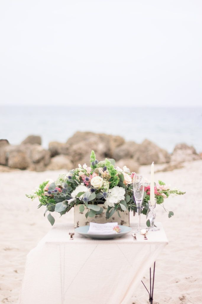 Styled Beach Elopement Photoshoot | Miami Gardens Florist: Flowers  Delivered   Aventura Flower Shop