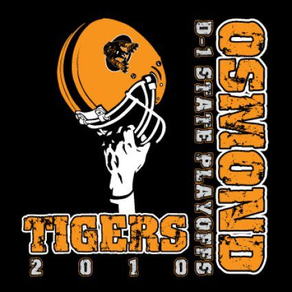 School Tshirt Design Ideas | State Football T-shirt - Osmond, NE ...