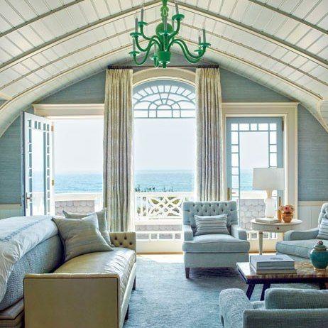 This stunning shingled beach house in the hamptons - Casas de ensueno interiores ...