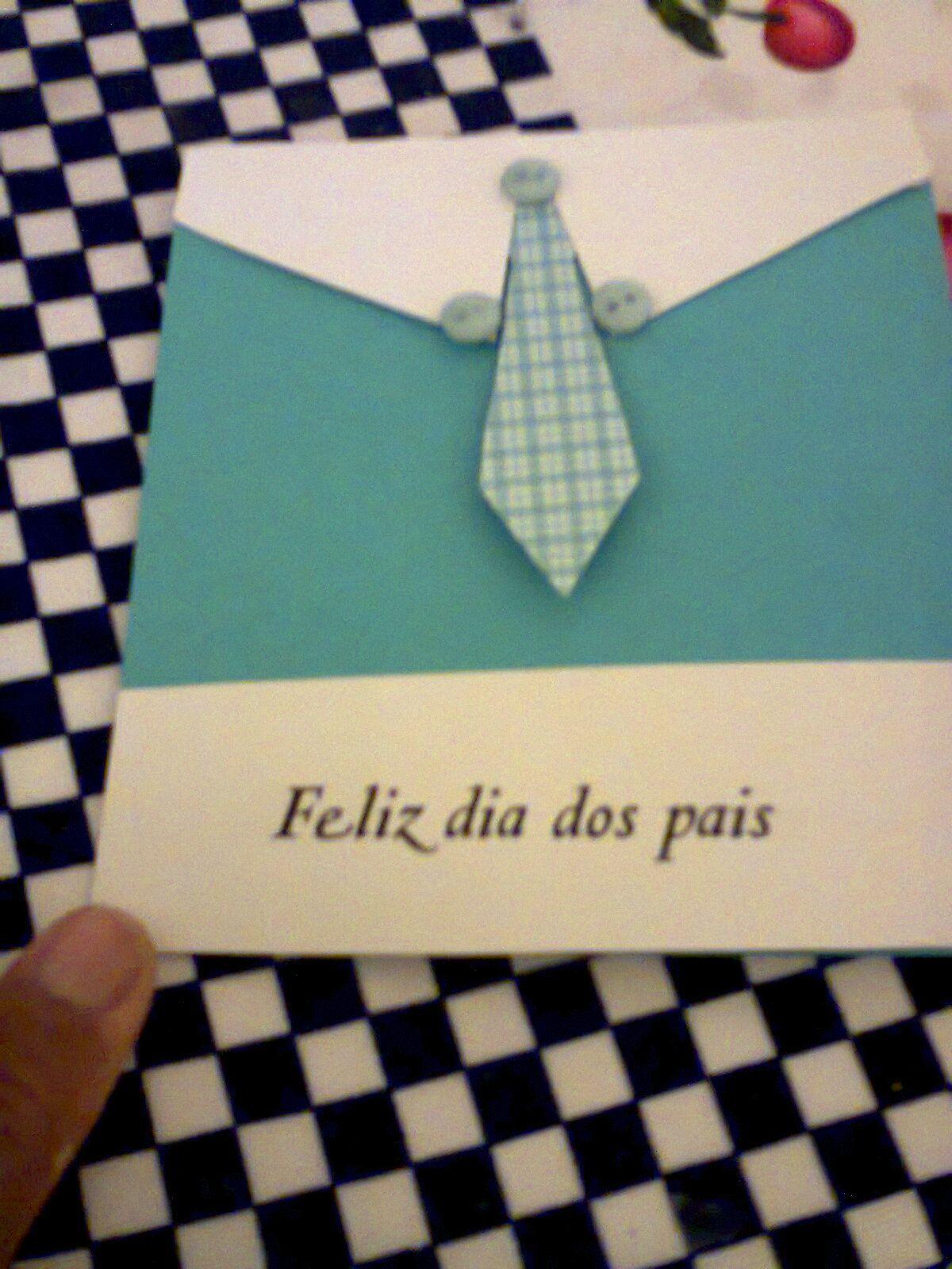 cartão dia dos pais.   ARTES   Pinterest