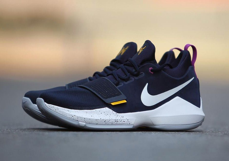 Nike PG 1 id Clean Yellow White Men's Basketball Shoes | Nike PG Paul  George's Basketball Shoes | Pinterest | Celebrity style, Work outfits and  Runway ...