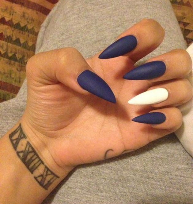 20 Worth Trying Long Stiletto Nails Designs   Stilettos and Long ...