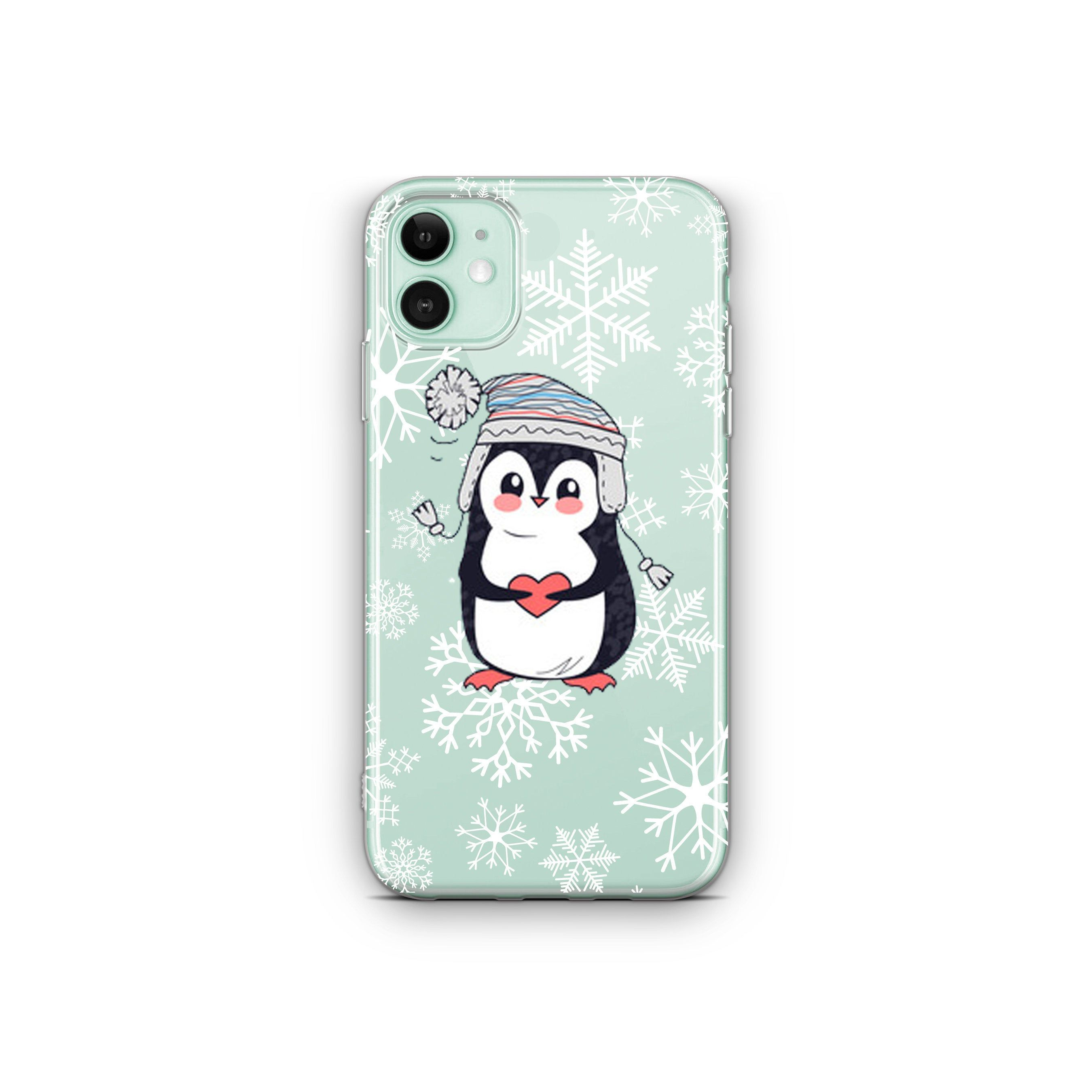 Clear Iphone 11 Christmas Iphone 12 Case Winter Snowflakes Etsy Case Stylish Iphone Cases Iphone 11