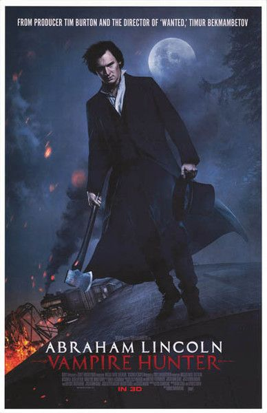 abraham lincoln vampire hunter movie free