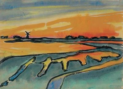 Emil Nolde, German Expressionist Painter, German Artists, Deutscher Kunst Maler,