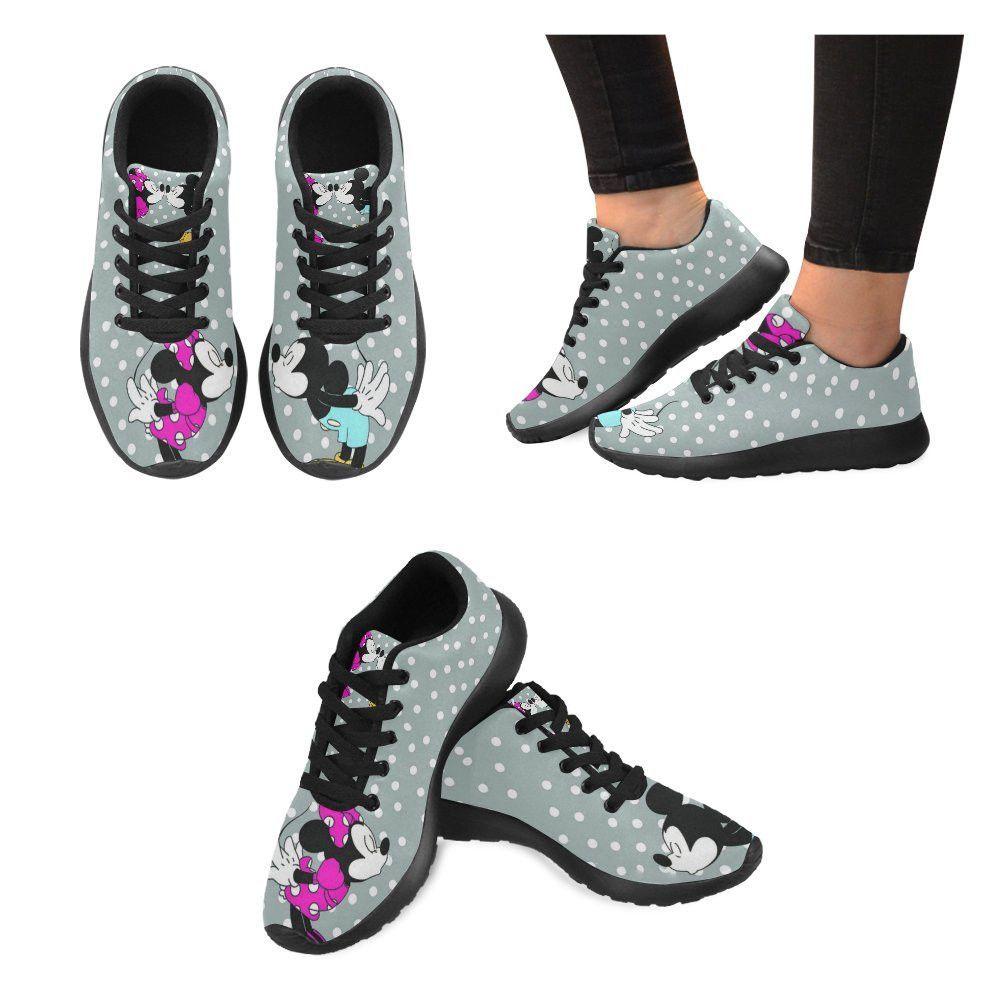 online store 71dbe cc13c Mickey   Minnie Kiss - Ladies Running Shoes