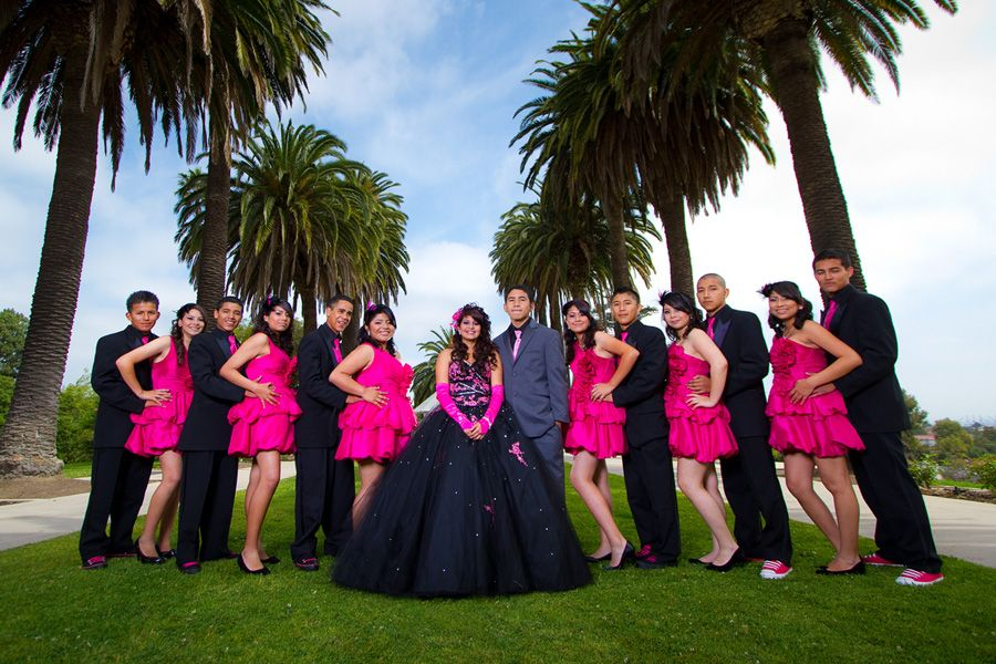 5441d254f5 Court of Honor each couple ‹ Quinceañera photography by Roy Hernandez  http   royphotographer