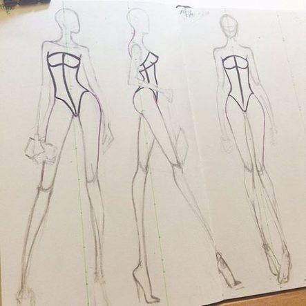 Photo of 19 Ideas For Fashion Model Poses Sketches Beautiful