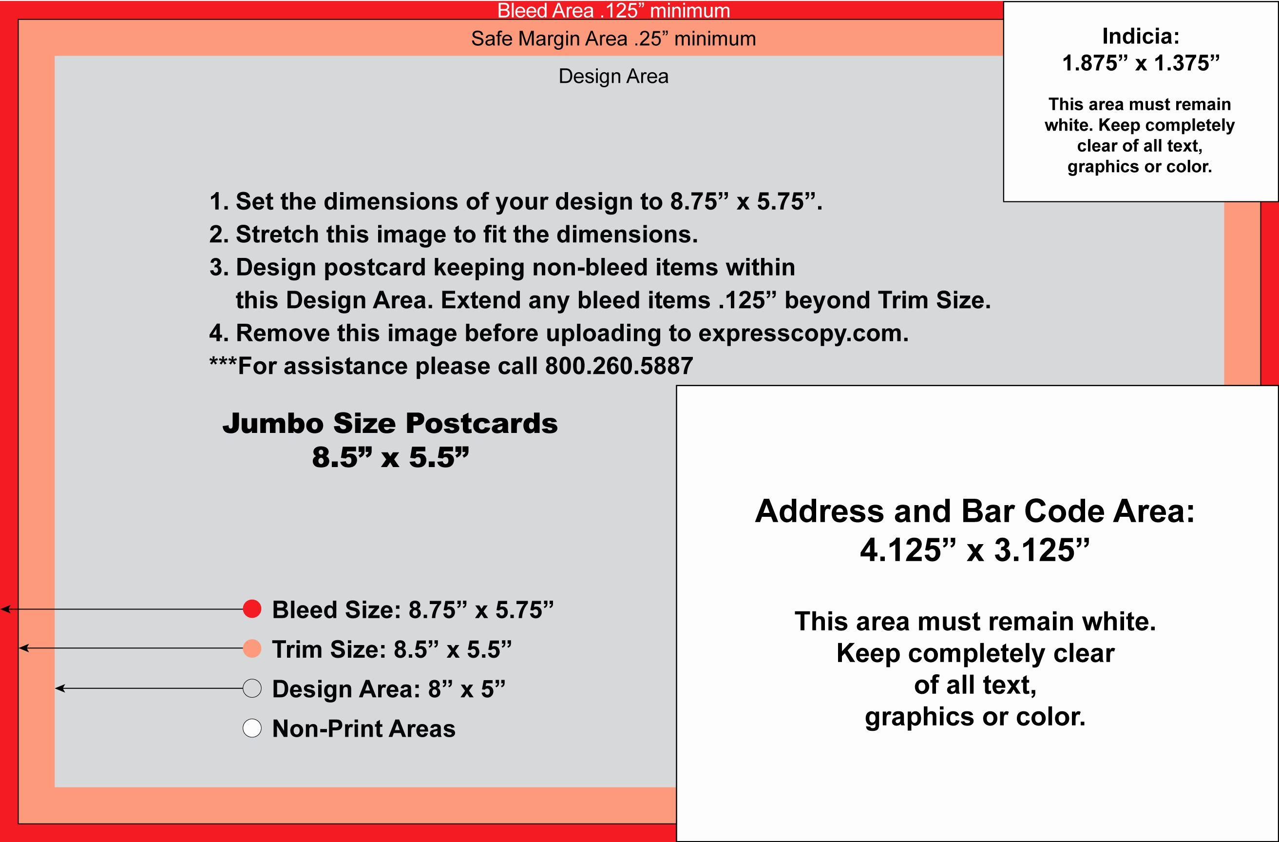 Back Of Postcard Template New Postcard Specifications Postcard Postal Regulations Free Business Card Templates Postcard Template Business Card Template