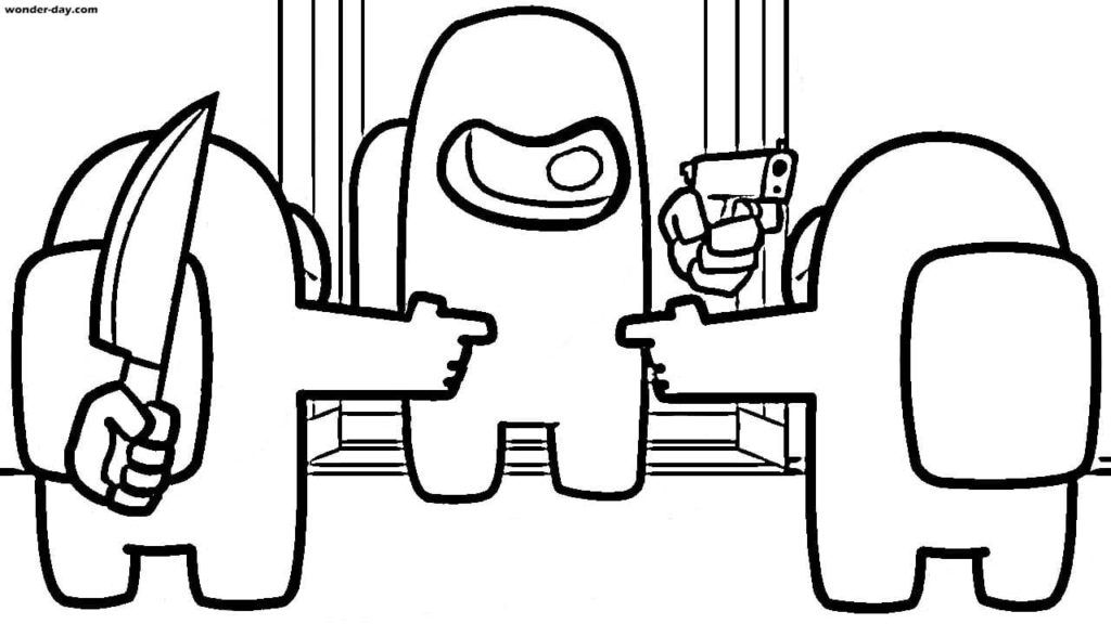 Among Us Coloring Pages Print For Free 80 Coloring Pages In 2020