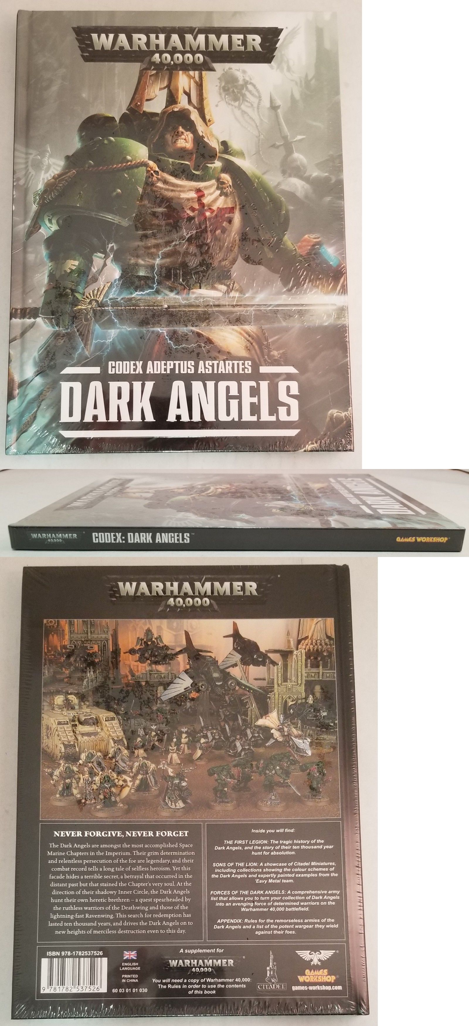 40K Rulebooks and Publications 90944: Warhammer 40,000 Codex Adeptus