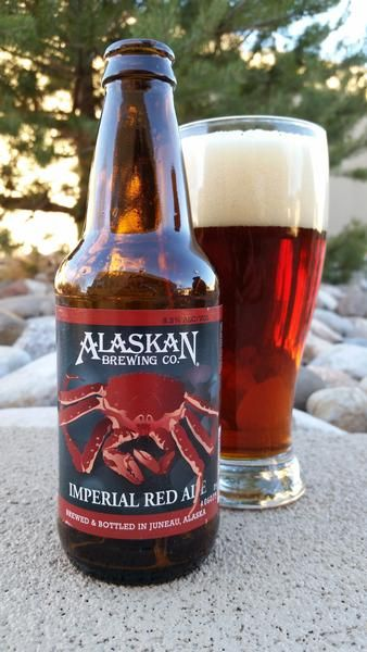BrewChief.com Review of Alaskan Imperial Red Ale (Alaskan Brewing Co.) : It's funny how beers can conjure amusing imagery. Breweries these days can no longer rely on the stale presentations of Big Beer yesteryear. Unless you're an English brewery with hundreds of years of brand recognition, the stylized oval with a name stamp is simply not enough. As the American craft beer movement soldiers on, breweries have given us some very memorable brands and labels... #craftbeer #beer