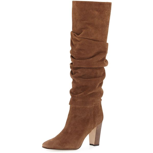 Manolo Blahnik Mid-Heel Knee-High Boots cheap sale amazing price low shipping for sale outlet low shipping comfortable for sale STAPELwEiQ