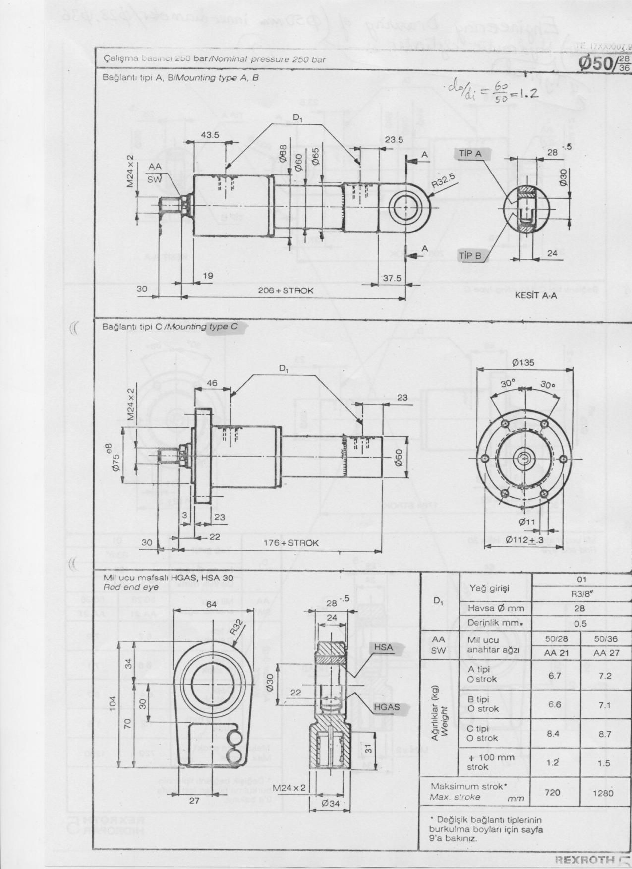 Engineering Drawing Template
