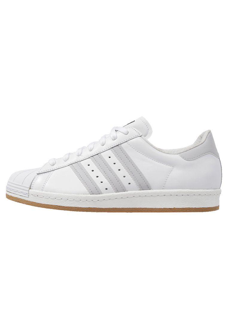 best sneakers 9ad09 b1bfd adidas Originals SUPERSTAR 80S REFLECTIVE NITE - Sneakers - whitesolid  greytan