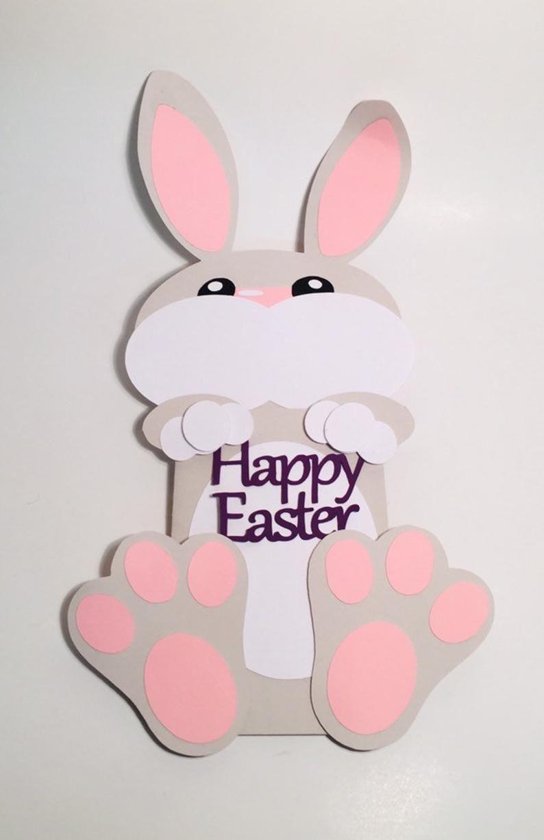 Personalised Easter Card Gift Money Holder