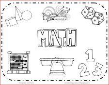 Science Center Set Up And Ideas For Preschool Math Clipart Clip Art Math Centers