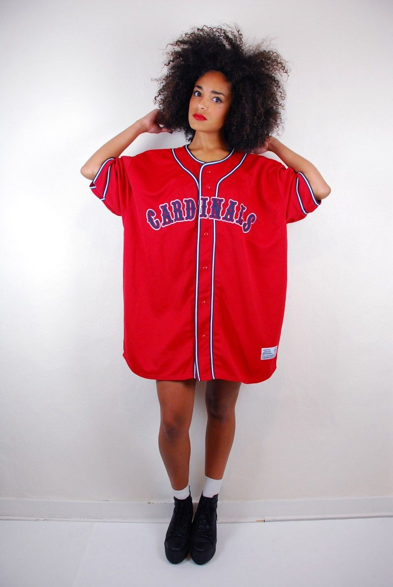 RETRO 90's CARDINALS BASEBALL JERSEY Vintage outfits