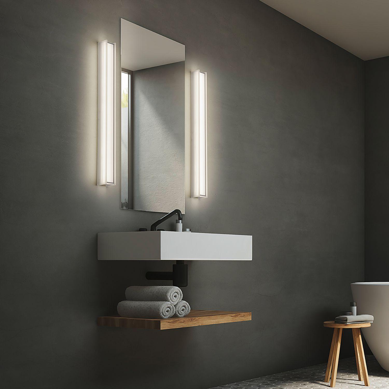 Eclairage Pour Miroir Sten In 2021 Badezimmerleuchten Badezimmer Zeitlos Und Wandleuchte