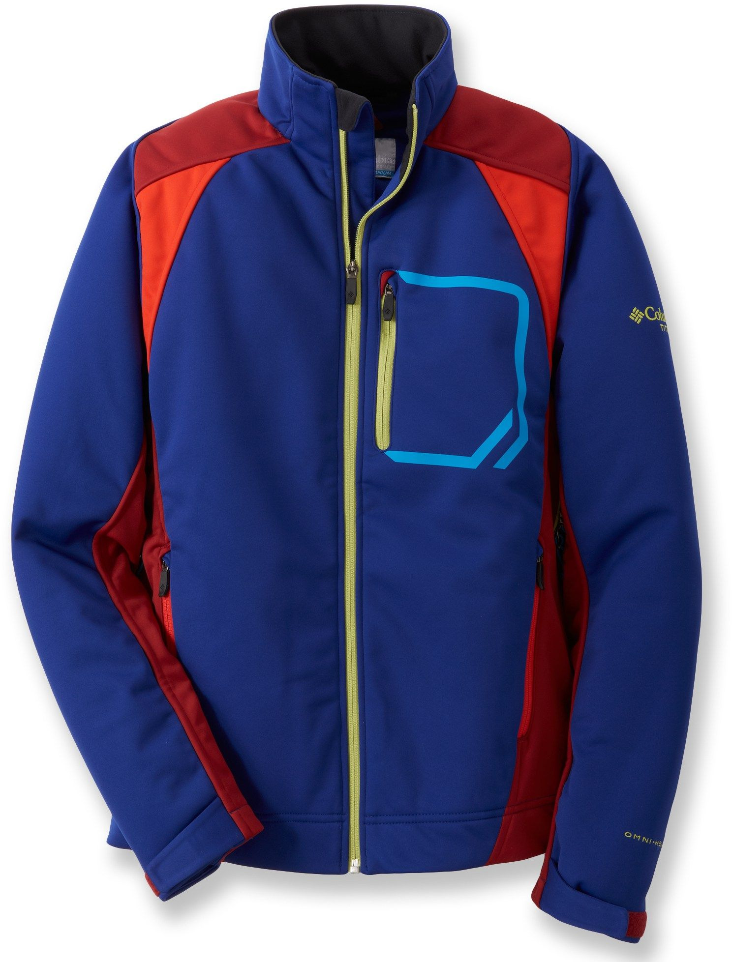 Columbia Key Three Soft-Shell Jacket - Men's - 2012 Closeout - Free Shipping at REI-OUTLET.com