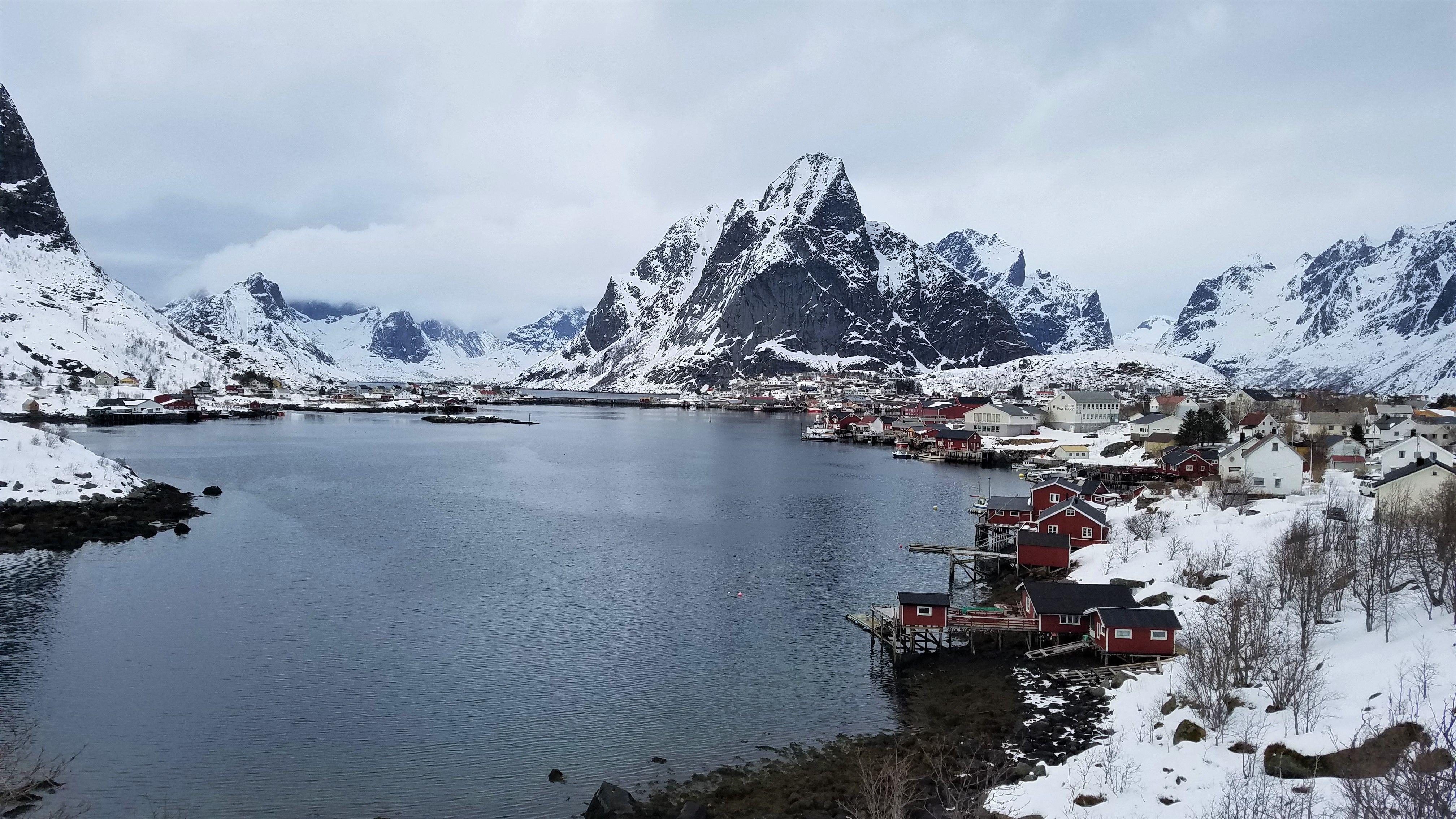 Reine Norway in the Lofoten Archipelago last spring. Those