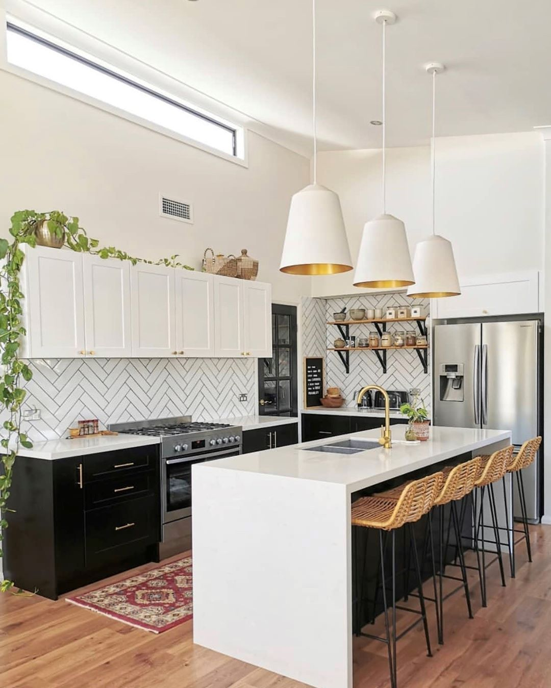 kaboodle kitchen on instagram transform your space thestylesociete created this gorgeous two on kaboodle kitchen layout id=46989