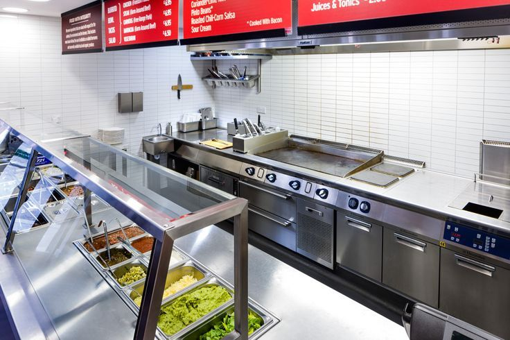 catering projects commercial kitchen chipotle wardour