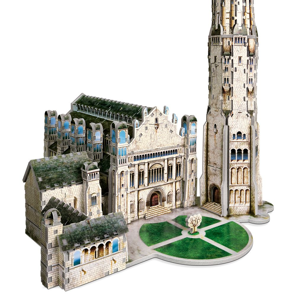 Citadel of Minas Tirith 3D puzzle from Wrebbit 3D Gondor Middle