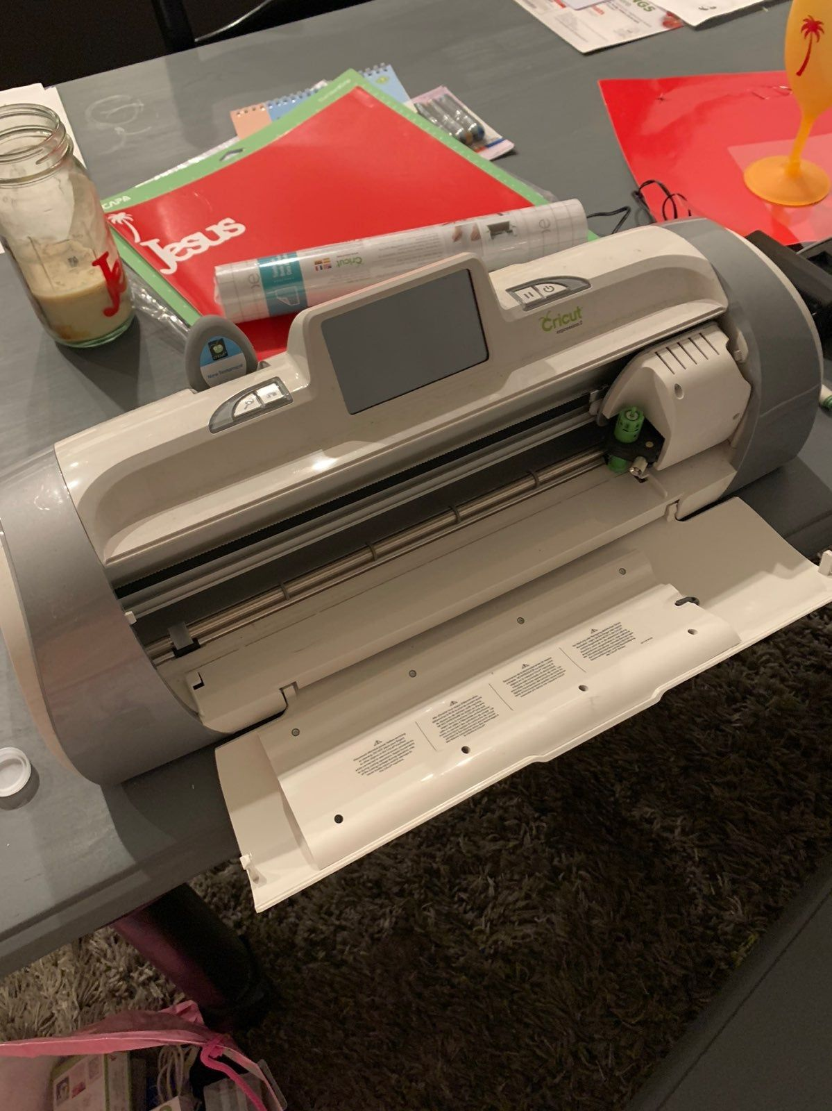 Selling My Cricut Expressions 2 So I Can Upgrade Works Great And Comes With Bible People Cartridge Cricut Expression Cricut Expression 2 Cricut