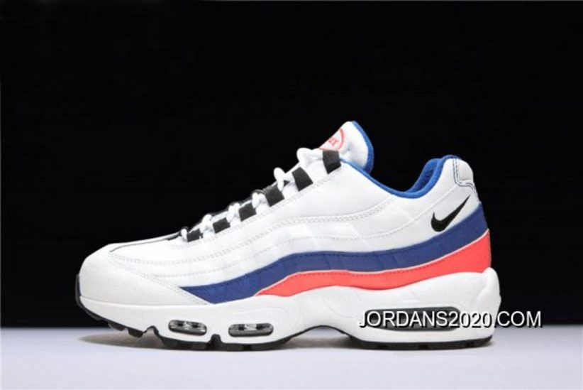 """Women Outlet Nike WMNS Air Max 95 OG """"Triple White"""" 307960 108 Free Shipping"""