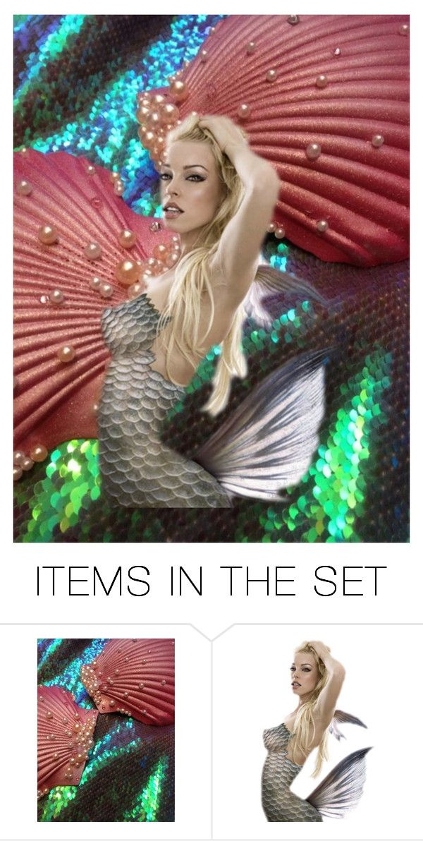"""""""sea siren"""" by limberlost ❤ liked on Polyvore featuring art"""