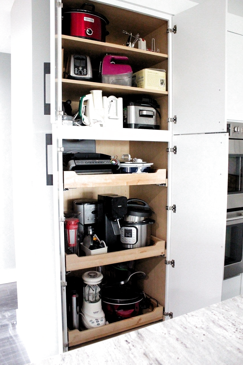 Add an appliance pantry to your kit…