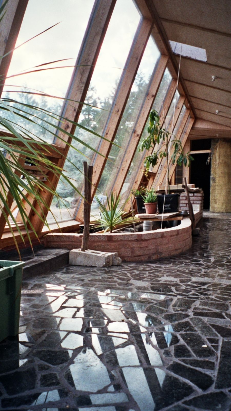 fetching sustainable house ideas. Earthship  self sustainable house No electric bill gas water