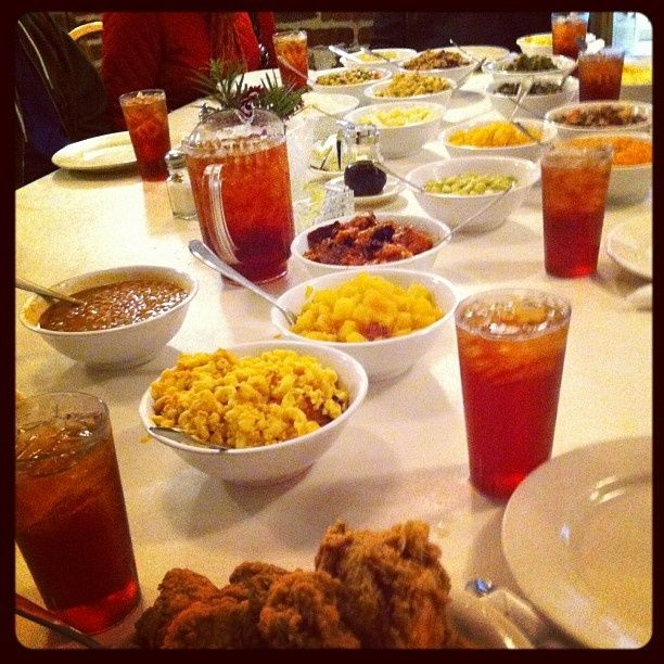 Eat delicious Southern food familystyle at Mrs Wilkes Dining