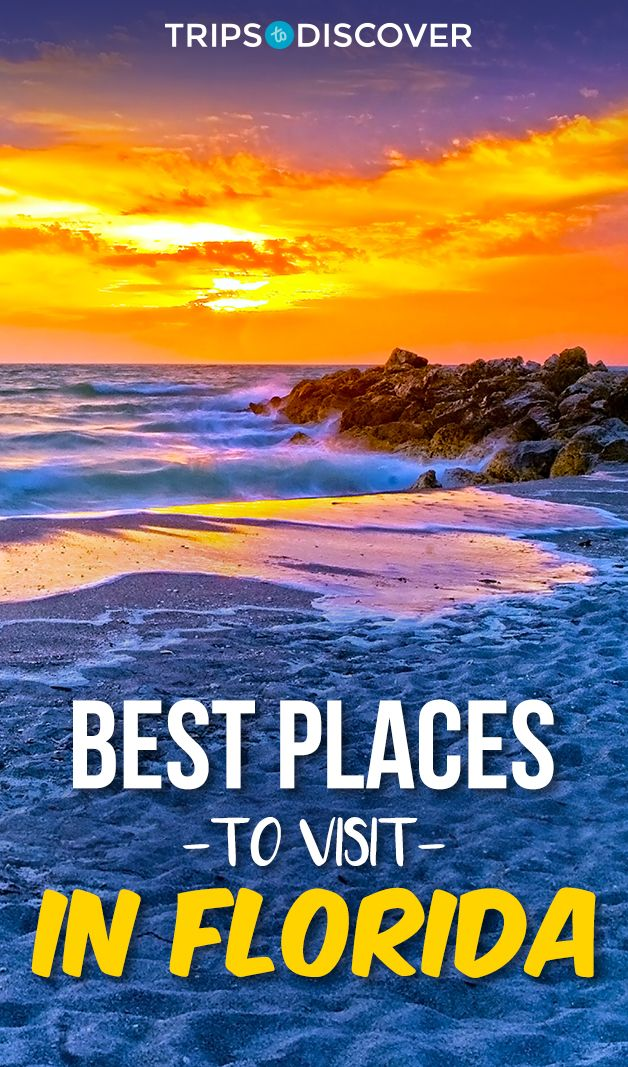 12 Best Places To Visit In Florida Tripstodiscover Cool Places To Visit Florida Travel Destinations Travel Destinations Beach