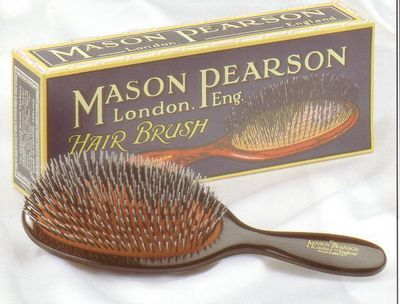 Mason Pearson Hair Brush. A Mason Pearson hair brush is superb to use and will gently massage and stimulate your scalp without damaging your hair.  $
