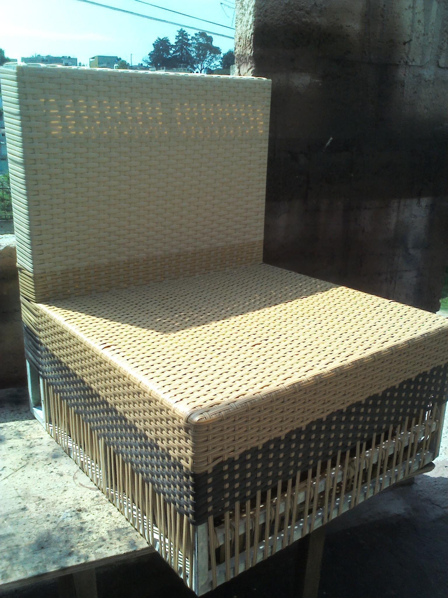 Salas Rattan Sintetico Nuevas Reparacion Sillas Bejuco Palma Tule  # Muebles Rattan Baratos