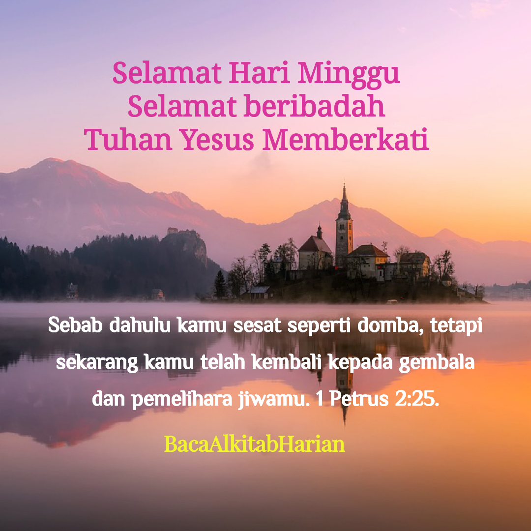 Selamat Hari Minggu Selamathariminggushalomaleichem Kutipan Kristen Kutipan Alkitab Ayat Alkitab