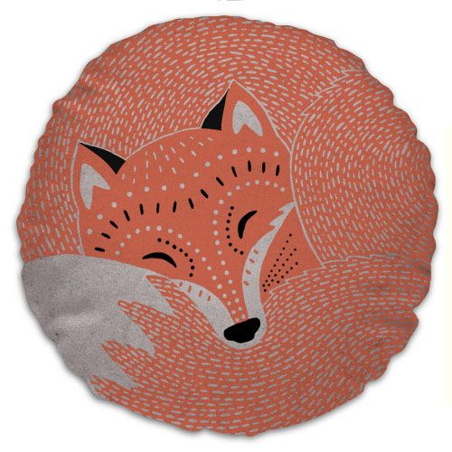 Awesome Fox Cushion By Solitaire @meghan Harron Design