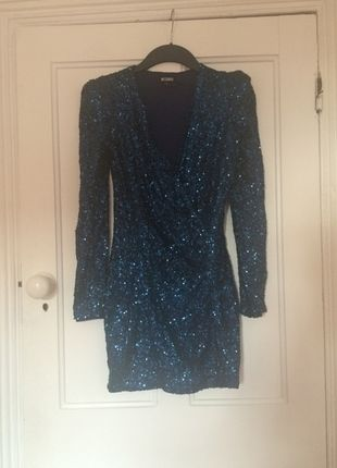 67843e1f Pin by Lekhani Chirwa on Glam Night Out | Blue sequin dress, Dresses ...
