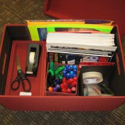 Using Rubbermaid Bento To Organize Office Supplies On The Go