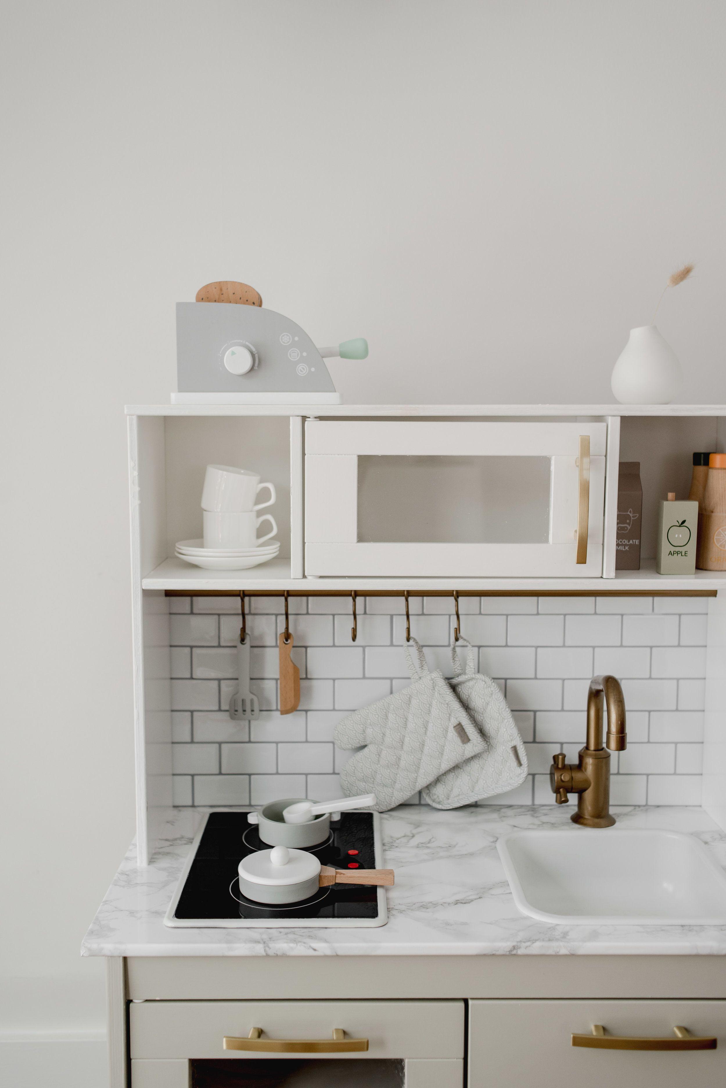 Scandinavian Modern IKEA Play Kitchen Hack in 2020 Ikea